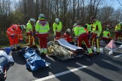 Rettungsdienst Busunfall 31