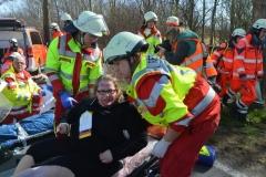 Rettungsdienst Busunfall 38