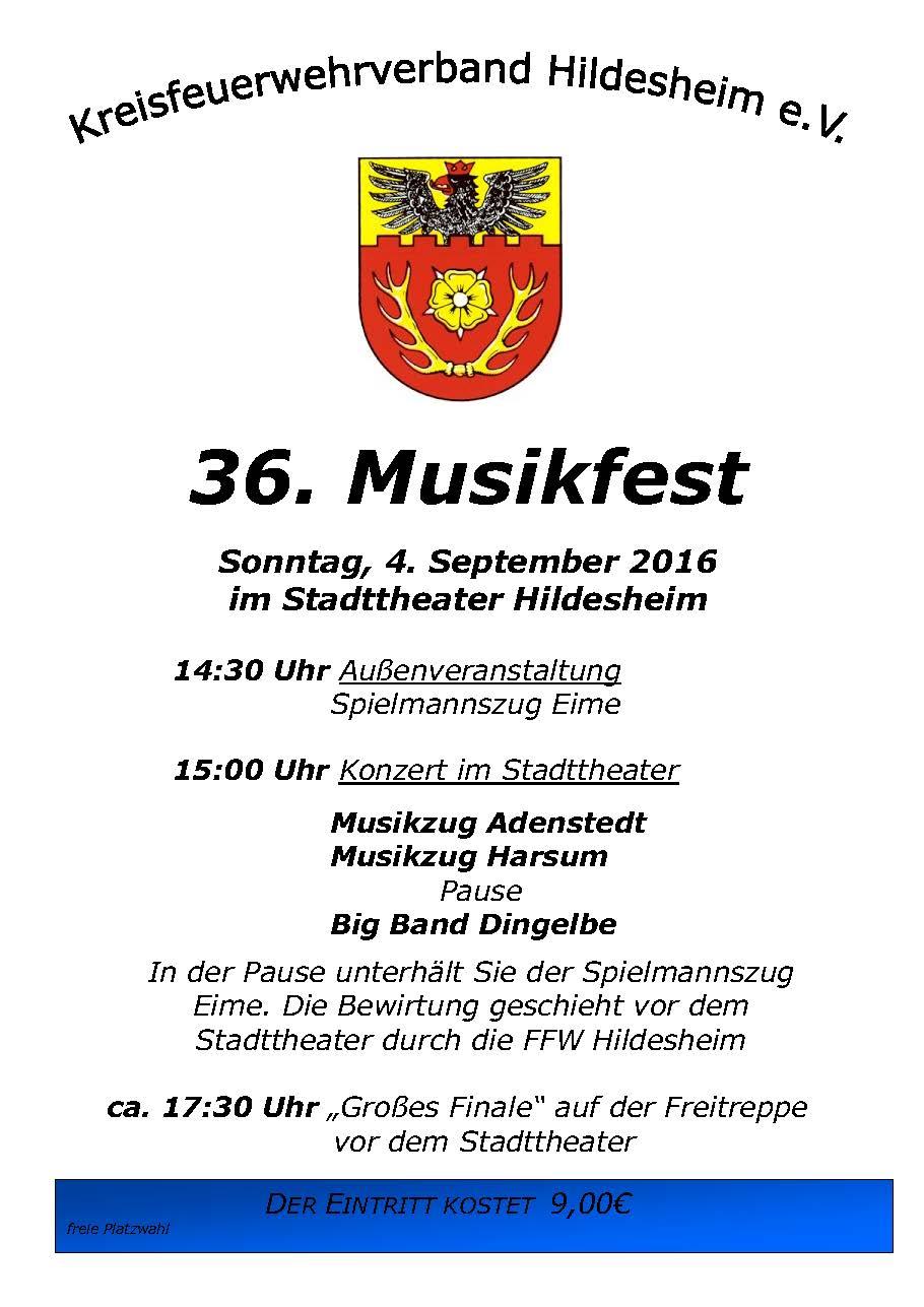36. Musikfest