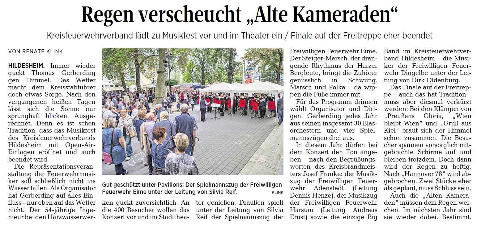 AZ vom 06.09.2016-KFV-Kreismusikfest